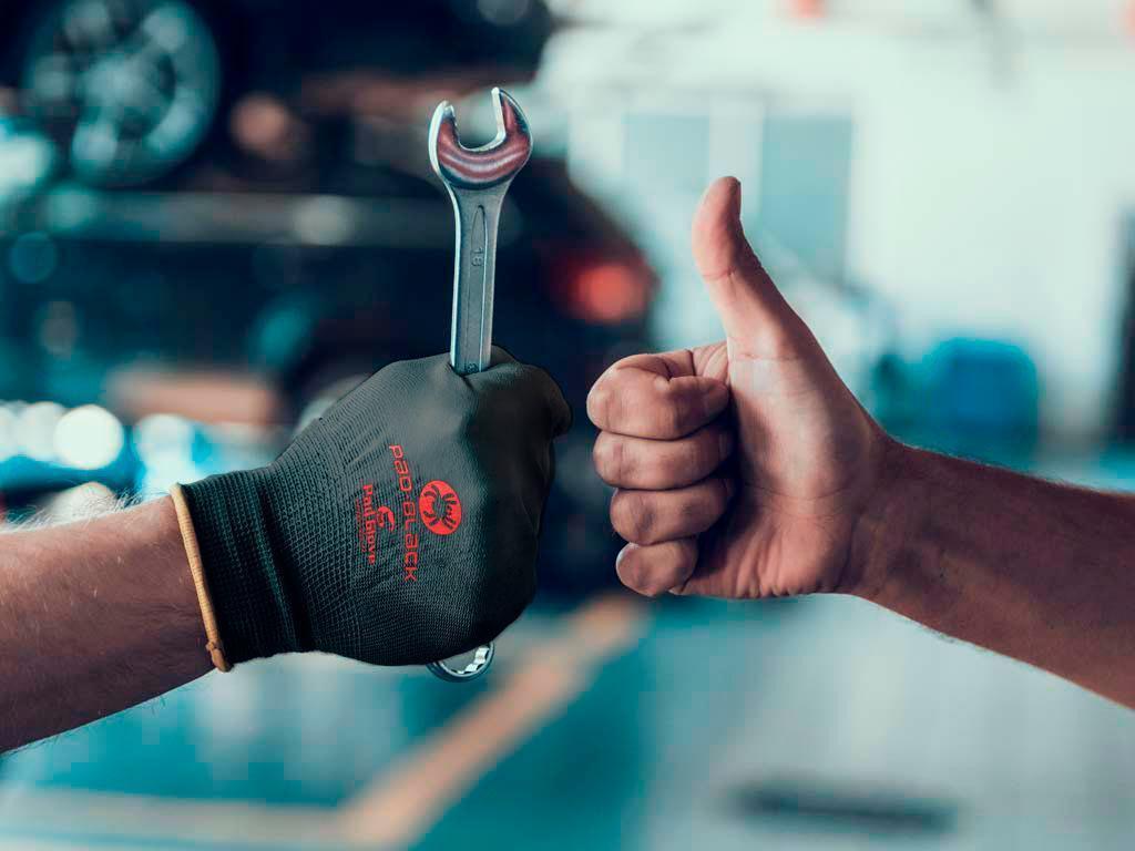 Pad Black - Working glove